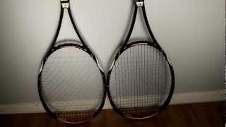 Side By Side Comparison Of A Pro Stock And Retail Tennis Racket(Wilson K blade 98(retail) vs Wilson H22(pro stock). Everyone should know that most touring pros don't use off the rack retail tennis rackets. I thought I'd share ..., 2012-05-25T23:43:25.000Z)