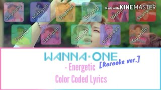 Download lagu Wanna one Energetic Color Coded Lyrics MP3