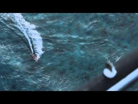 Life begins at 60! Kitesurfing off Necker  video