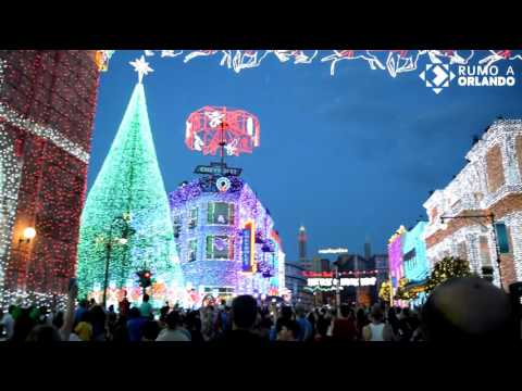 The Osborne Family Spectacle Of Dancing Lights - 2015 (Último Ano) Hollywood Studios