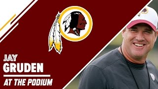hc jay gruden press conference 8 31 15