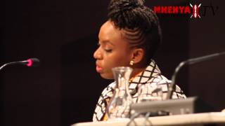 Chimamanda Ngozi Adichie answers questions on Americanah in Cologne Germany