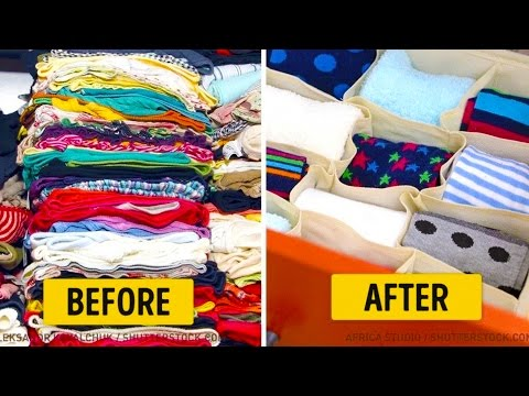 13 TIPS TO FINALLY ORGANIZE YOUR HOME