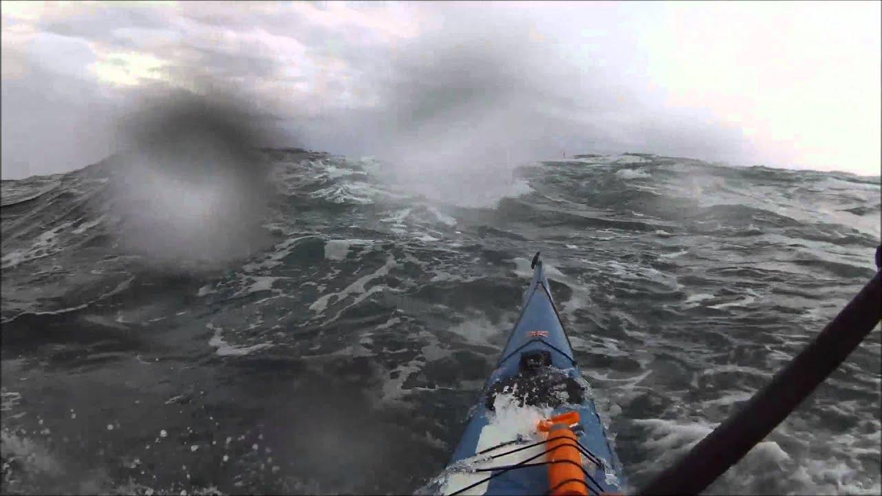 Sea Kayaking SKC Rough Water Week Brittany Point Du Raz