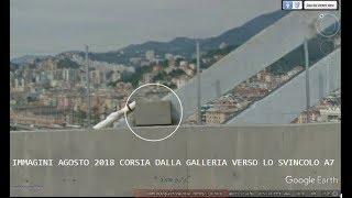 Genova  2019 04 08 Ponte Morandi Immagini Google Street View aggiornate ad Agosto 2018
