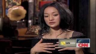 Zhou Xun On CNN's Chat Show, Talk Asia (part 3)