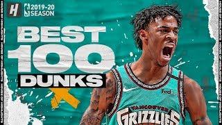 BEST 100 Dunks & Posterizes of the 2019-2020 NBA Regular Season
