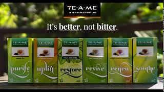 TE-A-ME Green teas - Better, Not Bitter | TE-A-ME Teas