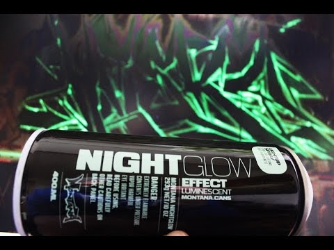 "MONTANA NIGHT GLOW  #TEST ""Hesky One"" feat. Pen Perry Leipzig Graffiti 2017"