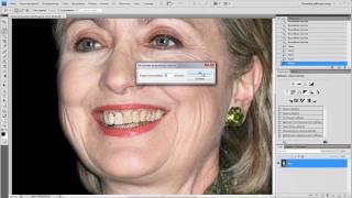 Уроки фотошопа. Отбеливание зубов