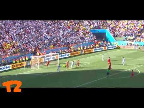 Angel Di Maria Goal (Argentina vs Switzerland) FIFA World Cup 2014