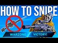 WARZONE: HOW TO SNIPE (Tips & Tricks Part 1)