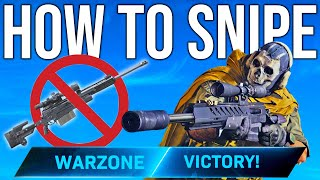 WARZONE: HOW TO SNIPE (Tips & Tricks)