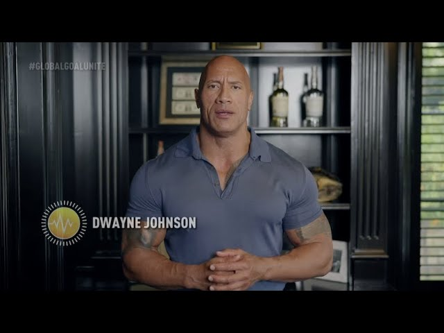 Dwayne Johnson Hosts Global Citizen's Worldwide Digital Concert, 'Global Goal: Unite for Our Future'