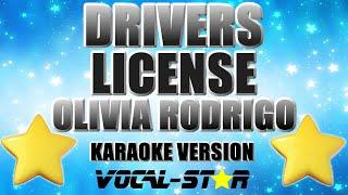 Olivia Rodrigo - Drivers License (Karaoke Version) with Lyrics HD Vocal-Star Karaoke