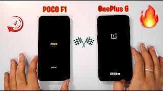 Poco F1 vs OnePlus 6 Speedtest Comparison, Multitasking & RAM Management [AMAZING RESULTS]