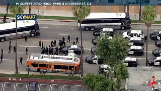 Peaceful protests seen across Los Angeles, OC, over George Floyd's death | ABC7