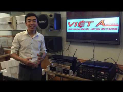 [Việt Á audio] Giới thiệu loa karaoke - Loa JBL Ki 82