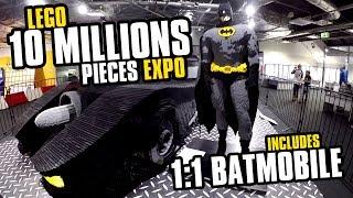 10 MILLION PIECES LEGO Expo [60 FPS]