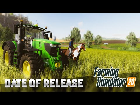 Farming Simulator 20 | FS 20 | ДАТА РЕЛИЗА | DATE OF RELEASE