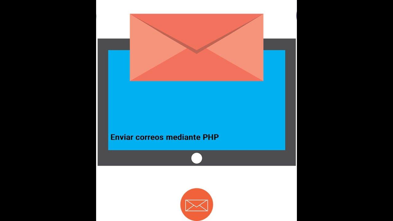 Enviar correos con php (Función mail) - YouTube
