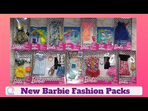 Haul: New Barbie Fashion 3 | Date night | Beach Outfits | Club Chelsea | Accesorios de Barbie