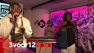 Woodie Smalls Live at 3voor12 Radio