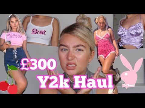 £300 Y2K Clothing Haul! dresses, top etc