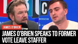 James O'Brien Speaks To Former Vote Leave Staffer Oliver Norgrove - LBC