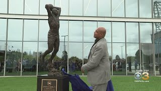 Philadelphia 76ers Unveil Charles Barkley Statue Outside Training Complex