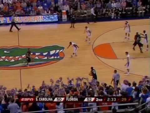 South Carolina v. Florida - 2010 Jan. 23 - Last 6 Minutes