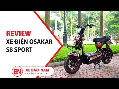 Xe điện Osakar S8 Sport ► Xe Máy điện Bền Nhất Hiện Nay Giá Hơn 10 Triệu(Bò Điên)(4K)