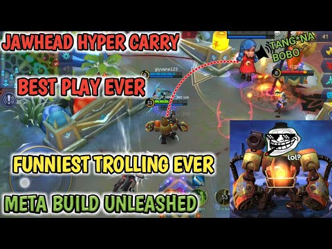 FUNNIEST MOBILE LEGENDS | HYPER CARRY | JH BEST PLAY