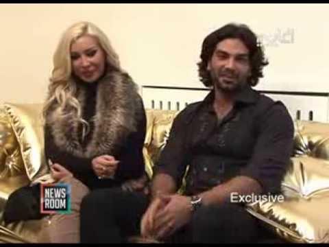Nourhanne & Adnan نورهان منعت عدنان من التمثيل.. وعدنان منعها من الفساتين الفاضحة