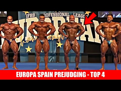 Europa Spain Prejudging- Top 4 - Regan, James, Rafael, Lukas