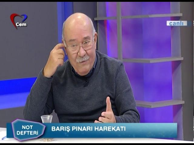 Atakan Sönmez İle Not Defteri // Aydın Engin (Ordu sefere çıkınca siyaset biter mi?) 16 Ekim 2019