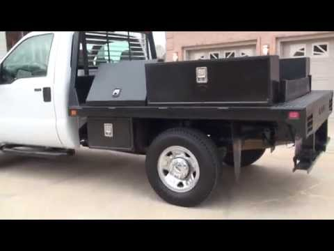 HD VIDEO 2008 FORD F250 XLT 4X4 UTILITY TRUCK V10 FOR SALE SEE WWW SUNSETMOTORS COM