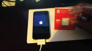 How to Unlock Verizon CDMA iPhone 4S iOS 5.1.1/2.0.12 Verizon for T-mobile with Gevey