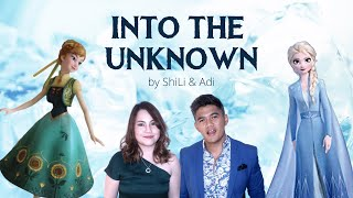 "Into The Unknown (""Frozen 2"" soundtrack) acoustic cover by ShiLi & Adi (DUET by male female singers)"