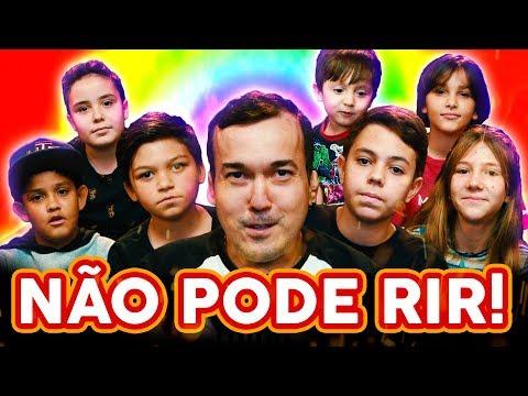 NÃO PODE RIR Dia das CRIANÇAS com Gigante Leo + Castro Brothers versão KIDS
