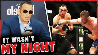 Tony Ferguson reacts to his loss to Justin Gaethje at UFC 249, Francis Ngannou on his 20-second KO