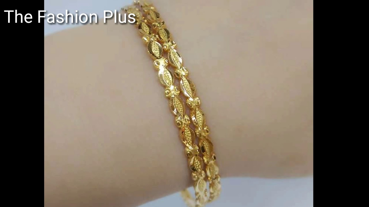 six thin sets bangles light karat set watch piece bangle weight gold