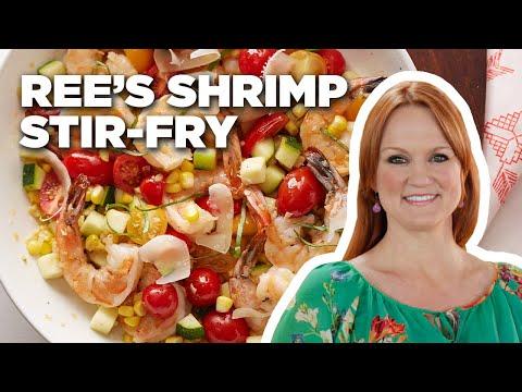 The Pioneer Woman's 10-Minute Shrimp Stir-Fry | Food Network