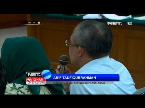 Petinggi PT. Adhi Karya akui suap Anas - NET17