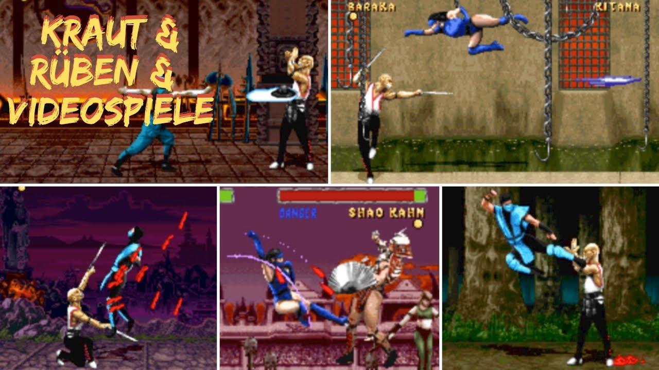 Mortal Kombat Videospiele