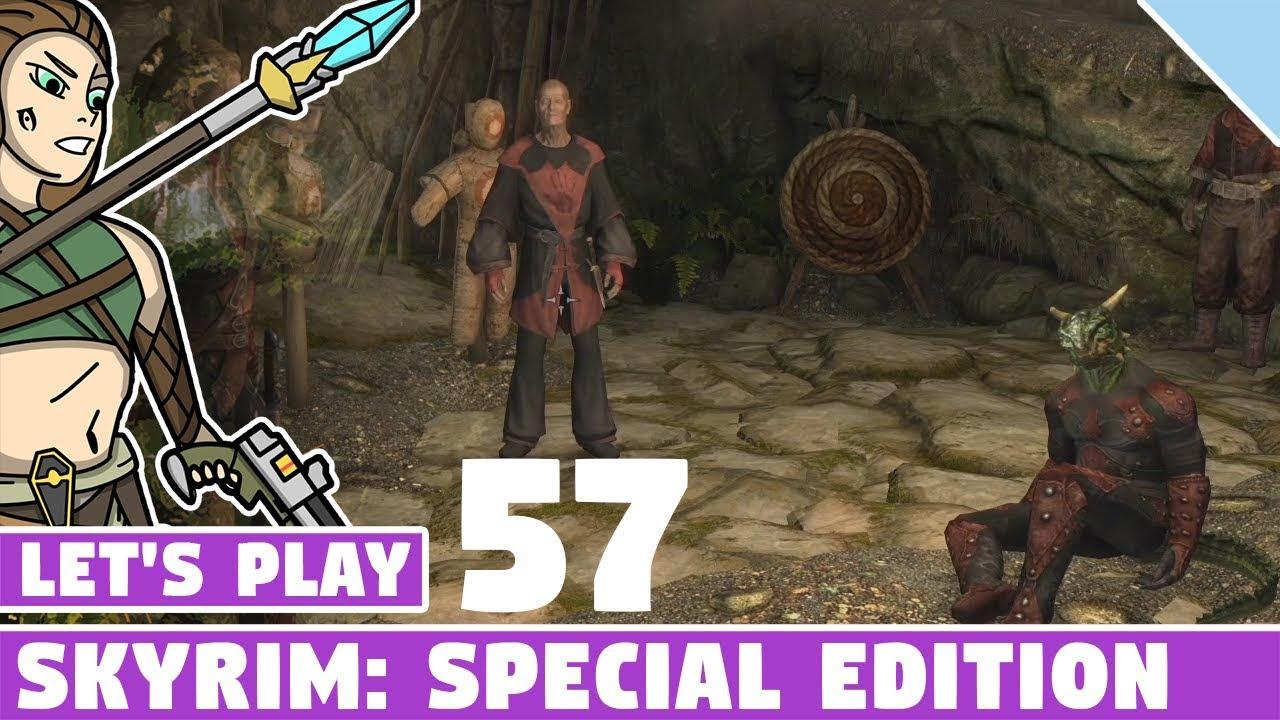 Cicero's Gone Mad! #057 Let's Play Skyrim Special Edition! Vanilla Skyrim SE