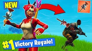 *NEW* CLINGER STICKY GRENADE GAMEPLAY In Fortnite Battle Royale!