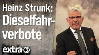 Dieselfahrverbot-Experte Heinz Strunk