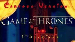 El Trono De Espadas - I° Temporada - Trailer (Versión De Dibujos Animados)