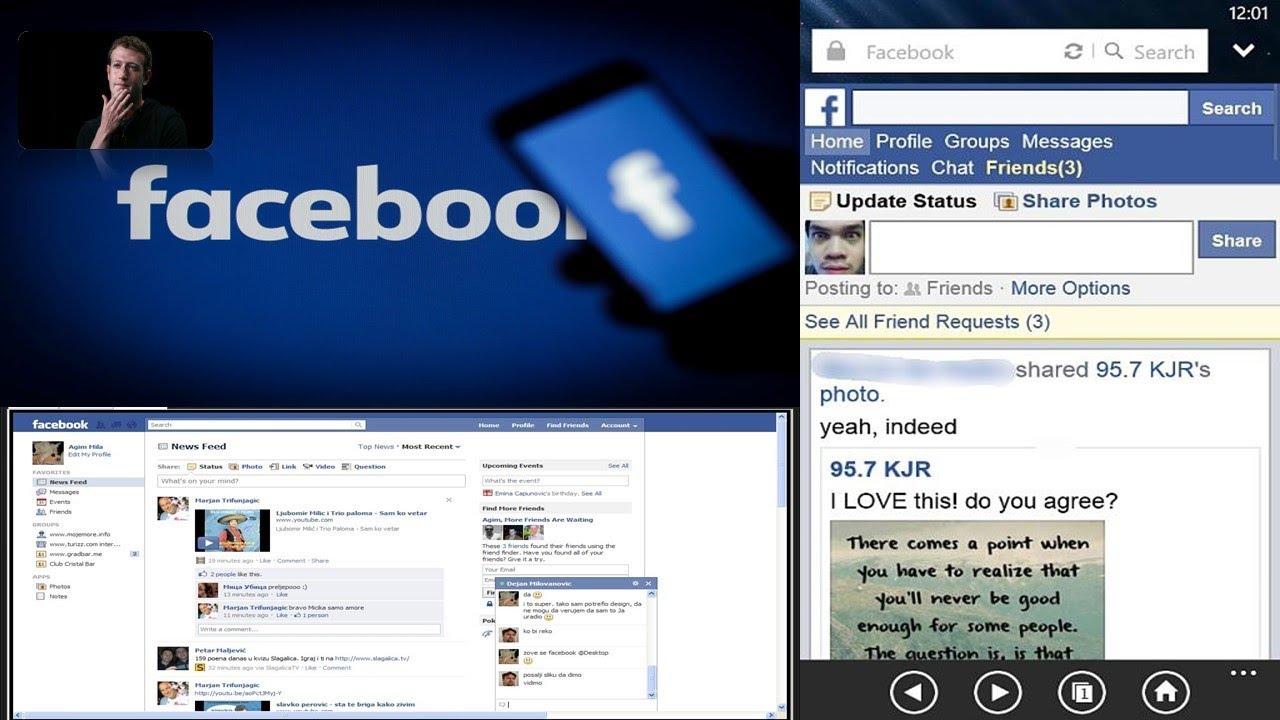 New version of facebook browser